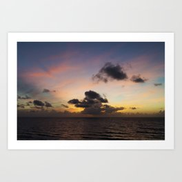 Palm Beach Sunrise Art Print