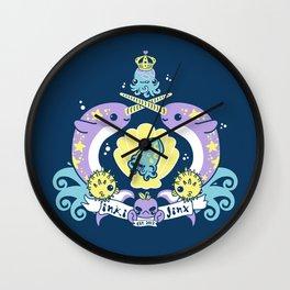 inki-Jinx Coat of Arms Wall Clock