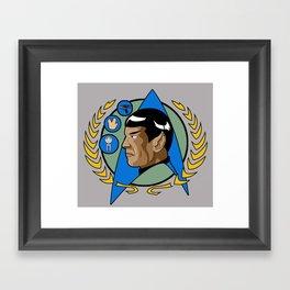 Star Trek Spock  Framed Art Print
