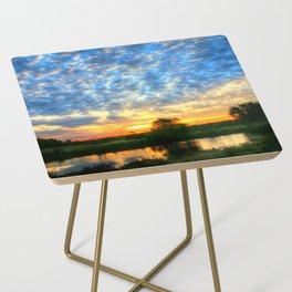 November East Texas Sunrise Side Table