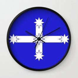 Australian Eureka Flag Wall Clock