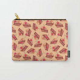 cherries & cakes- peach orange Carry-All Pouch