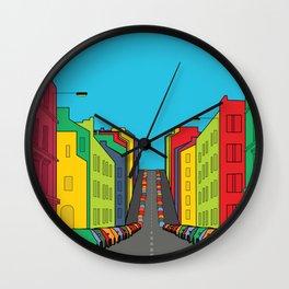 Tenement Hill Wall Clock