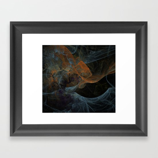 Color Abstraction Framed Art Print