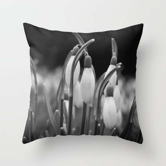 New beginnings and hope Throw Pillow