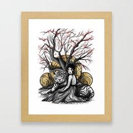 Godess of Creation Framed Art Print