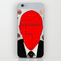 putin iPhone & iPod Skins featuring Putin-Quiz  by Alessandro De Vita
