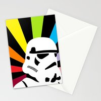 After the Storm... Rainbow Trooper Stationery Cards