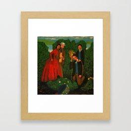 Death of the Burryman Framed Art Print