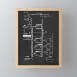 Beer Whisky Still Distillery Patent Framed Mini Art Print