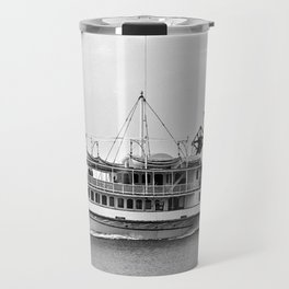 Ticonderoga Side Wheeler Steamboat Travel Mug
