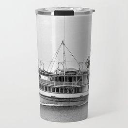 Ticonderoga Side Wheeler Steamboat Travel Mug