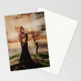 Fiery Queen Stationery Cards