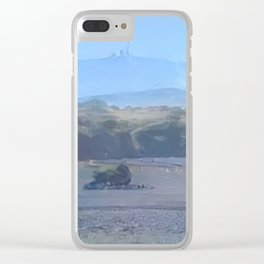 Arctic Mount Brocken Clear iPhone Case