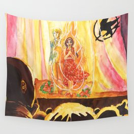 Catching Fire Wall Tapestry
