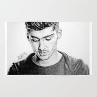 zayn Area & Throw Rugs featuring Zayn by Drawpassionn