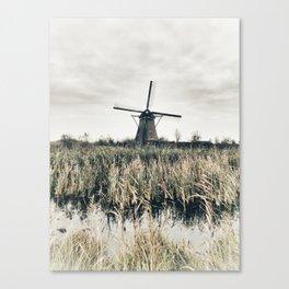 Traditional Dutch Windmill Canvas Print