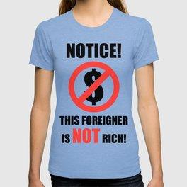 Not Rich T-shirt