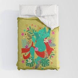 Ganeshas Dance Comforters