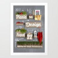 Picnic By Design 2012 Art Print