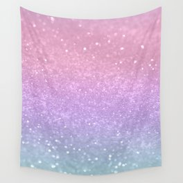Unicorn Princess Glitter #1 #pastel #decor #art #society6 Wall Tapestry