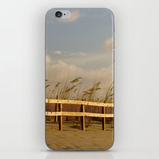 sandy beach iPhone Skin