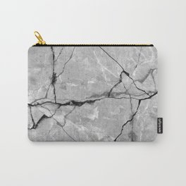 Cracked marble Carry-All Pouch