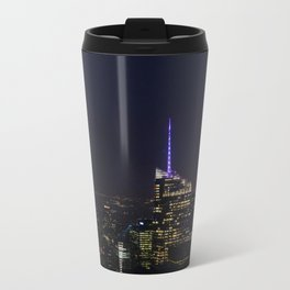 NYC Iconic Night Sky Metal Travel Mug