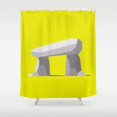 Dolmen (western portal) Shower Curtain