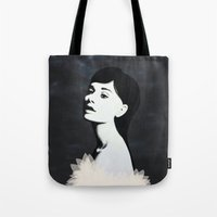 audrey Tote Bags featuring Audrey by EISENHART