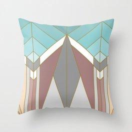 ART DECO G2 (abstract geometric) Throw Pillow