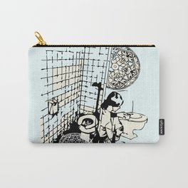 TOILET CLEANING Carry-All Pouch