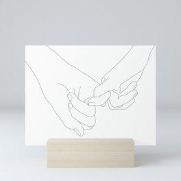 Pinky Promise Mini Art Print