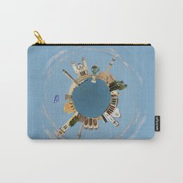 Rethymno little planet Carry-All Pouch