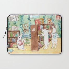 Bookstore Bunnies Laptop Sleeve