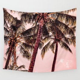 Tropical blush Wall Tapestry