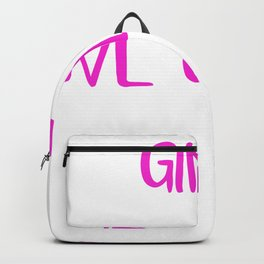 Glamping Girls Dont Camp We Glamp Backpack
