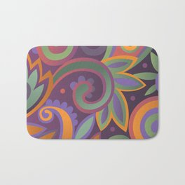 Summer leaves, heavy scented Bath Mat
