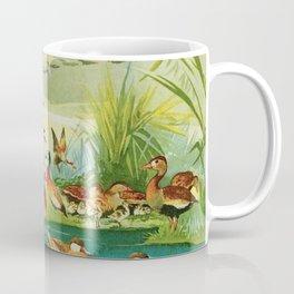 Amazonian birds by Göldi & Emil August 1859-1917 Belem Brazil Colorful Tropical Birds Ducks Coffee Mug