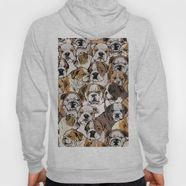 Social English Bulldog Hoody