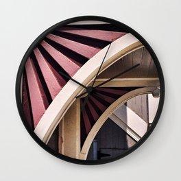 Flower Arch Wall Clock