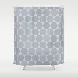Star Of David | Modern Geometry Shower Curtain