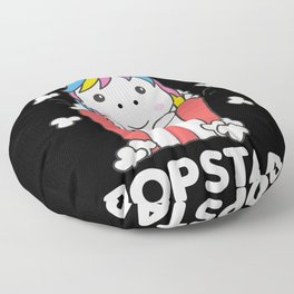 Unicorn Popcorn Whats Poppin Funny PopStar Floor Pillow