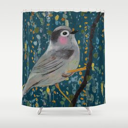 in to dawn Shower Curtain