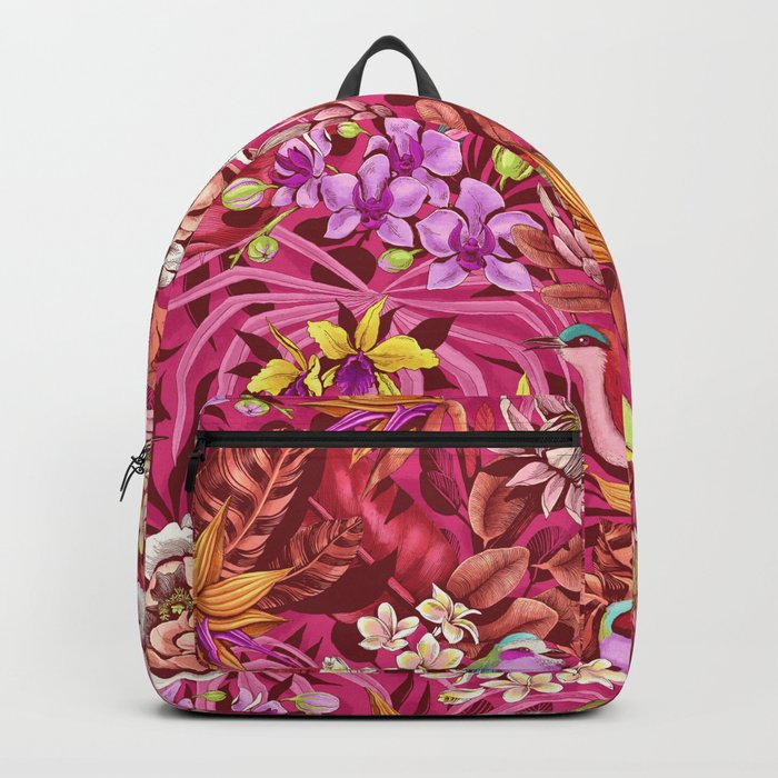 Stand out! (sunset flame) Backpack