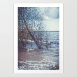 Lost On You Art Print