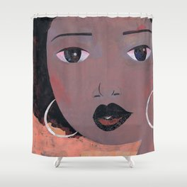 New Fro #1 Shower Curtain