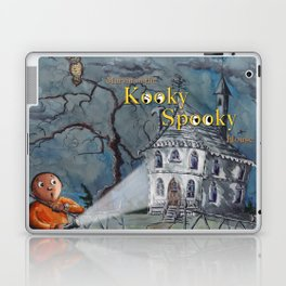 Marvin in the Kooky Spooky House Laptop & iPad Skin