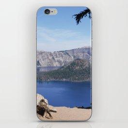 The Bluest Lake iPhone Skin