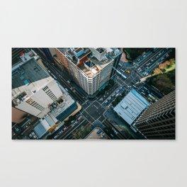 New York City Skyscaper View Canvas Print